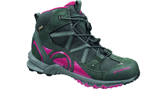 Mammut Nova Mid GTX Shoes Kids graphite/crimson